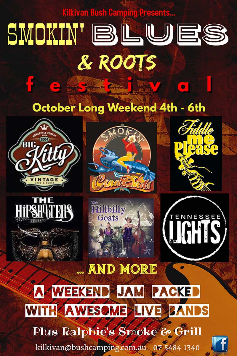 Blue and Roots music lineup
