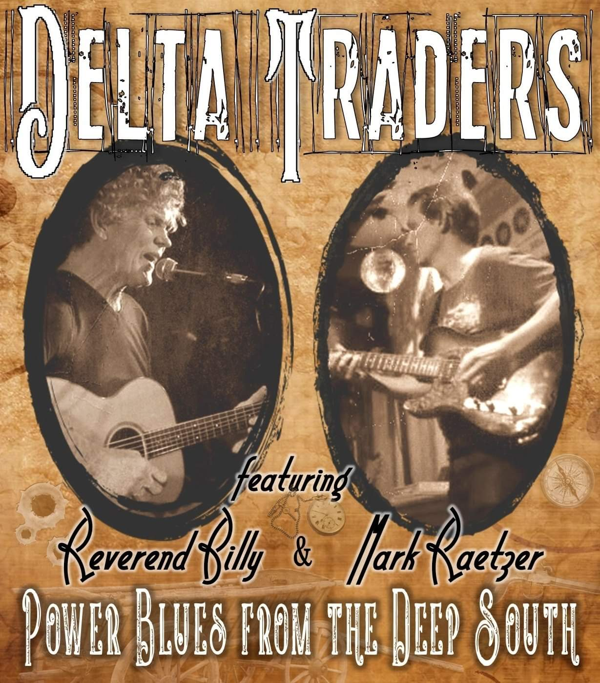 Flyer of the band Delta Flyers